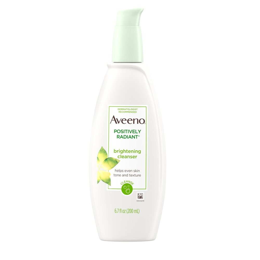 AVEENO® Positively Radiant® Skin Brightening Face Cleanser