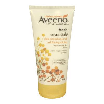 Aveeno Fresh Essentials Daily Exfoliating Scrub