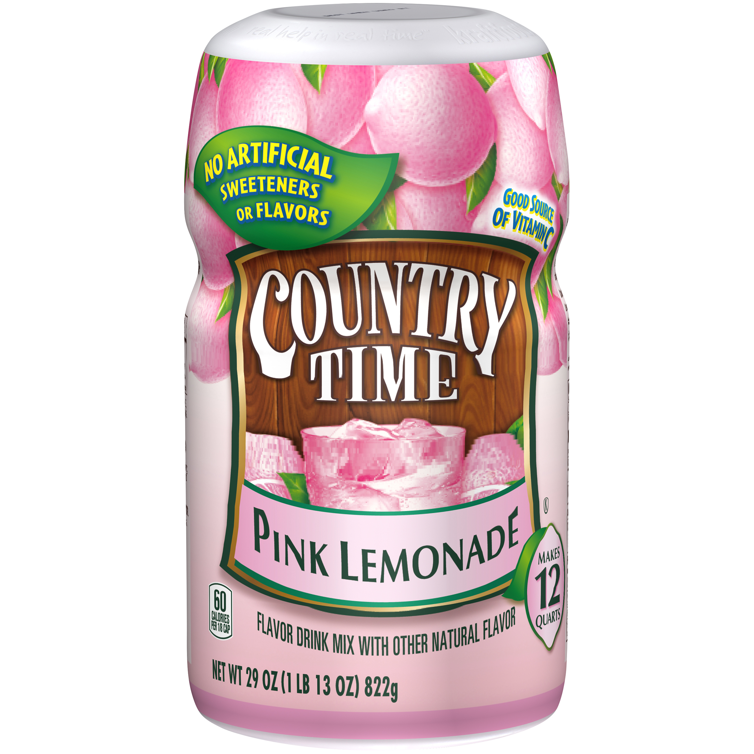 Country Time Sugar-Sweetened Pink Lemonade Powdered Soft Drink
