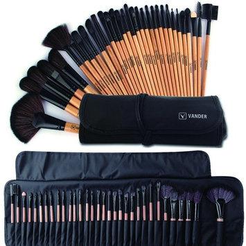 Makeup Brushes Set Professional Makeup Brush Cosmetic Set Kit Wooden Handle Cosmetics Foundation Eyeliner Eyeshadow Face Powder Blush Lipstick Brushes-32 piece