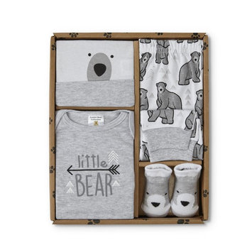 Cuddle Bear Infants' 4-Piece Layette Set - Little Bear