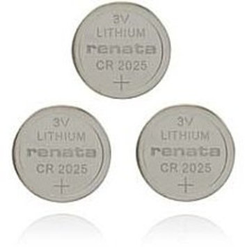 Enercell® 3V/165mAh CR2025 Lithium Coin Cell (3-Pack)