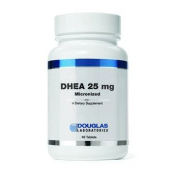 Douglas Laboratories® - DHEA 25 mg - Micronized to Support Immunity, Brain, Bones, Metabolism and Lean Body Mass* - 60 Tablets [Standard Packaging]