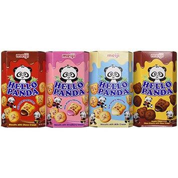 Meiji Hello Panda - Variety (4x1)