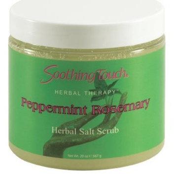 Peppermint Rosemary Herbal Salt Scrub 20 oz
