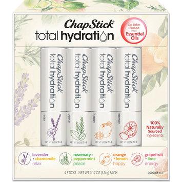 ChapStick Total Hydration Essential Oils Lip Balms Set