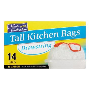 Nicole Home Collection 01020 13 Gallon Tall Kitchen DrawStorageing Trash Bags - 336 Per Case