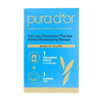 PURA D'OR Hair Thinning Therapy Intense Moisturizing Masque, Single Use 1.2oz