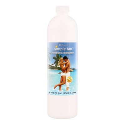 Pint Belloccio Simple Tan 12% DHA Dark Sunless Airbrush Spray Tanning Solution