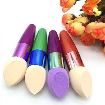 1 Pcs Random Color Makeup Brush Set Soft Facial Sponge Blender Concealer Eye Shadow Egg Puff Flawless Powder Smooth Cosmetic Tool Professional Natural Beauty Palettes Eyeshadow Pride Popular Kit