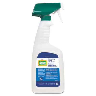 Procter & Gamble Cleaner w/Bleach, 32 oz, Plastic Spray Bottle, Fresh Scent