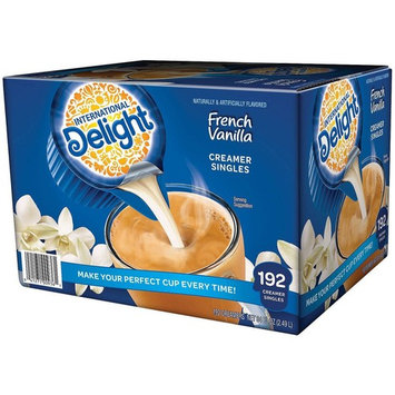 International Delight Non-Dairy Single-Serve Coffee Creamers, French Vanilla, 384 Count