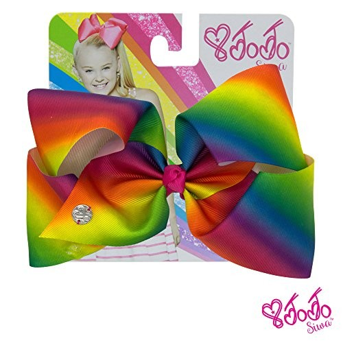 JoJo Siwa Large Cheer Hair Bow (Pink #1)
