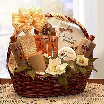 Spa Gift Basket Vanilla Bliss Bath Spa