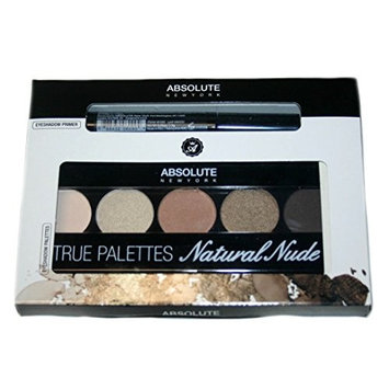 Absolute New York Natural Nude Eyeshadow Palette and Primer Set