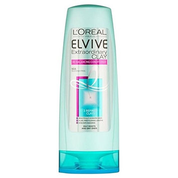 L'Oreal Paris Elvive Extraordinary Clay Re-Balancing Conditioner 250ml (PACK OF 6)
