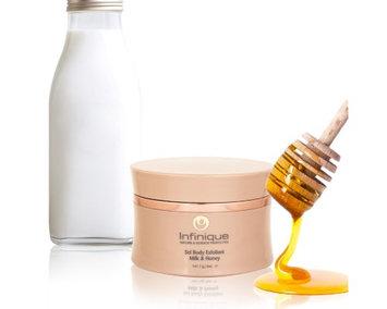 Infinique Milk & Honey Sel Body Exfoliant
