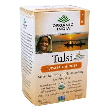 Tulsi Tea Turmeric Ginger - 18 Tea Bags
