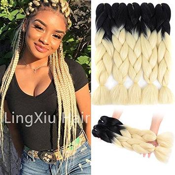 LingXiu Ombre Braiding Hair 5Pcs/Lot 24