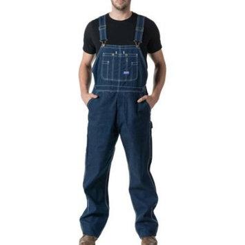 Men's 100% Cotton Rigid Denim Bib Overall