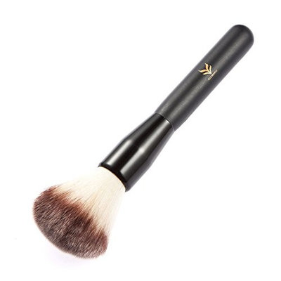 HUMLI Professional Makeup Highlight Brush with 1 Brush Cleaner Mineral Makeup Blush and Concealer Cosmetic Makeup Brush Superior Quality Nylon Hair Face Foundation Brush