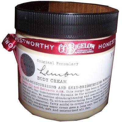 C.O. Bigelow Lemon Body Cream 8 Oz.