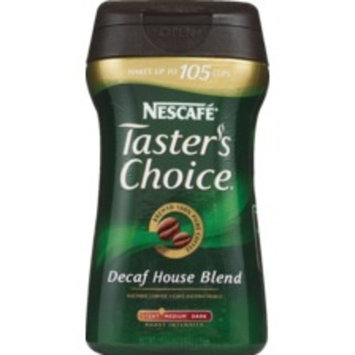 Nescafe Taster's Choice Instant Coffee 7 OZ, Decaf House Blend