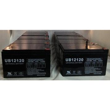 UB12120 12V 12AH Sealed Lead Acid Battery (SLA) .187 TT - 10 Pack
