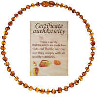 Mommy's Touch® 100% Natural Amber Teething Necklace