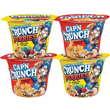Quaker Foods And Distribution Inc. Cap'n Crunch Cups Variety Pack