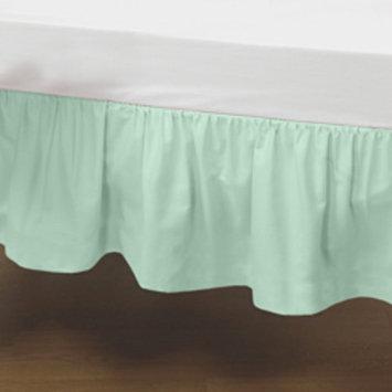 Standard Crib Solid Dust Ruffle