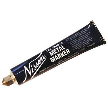 Nissen High Purity Marker, White,3/16in. Tip Size Model: 00252