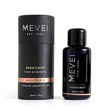 MEVEI   BERGAMOT Luxury Essential Oil - Fresh & Cheerful   100% Pure & Natural (1 fl oz/30 ml)