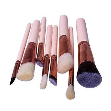 Kim88 Makeup Brushes Set 8x Pro Powder Foundation Eyeshadow Eyeshow Eyeliner Brush Tools