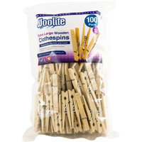 Kennedy Home Collections Wooden Pegs - 100 Count