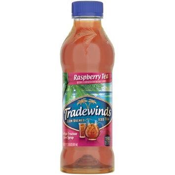 Tradewinds Slow Brewed Iced Tea, Raspberry , 18.5 Fl Oz, 12 Count