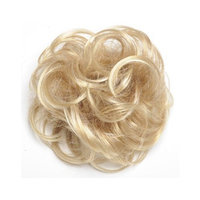 Tony of Beverly Womens Synthetic Hairpiece ''Flounce''-2: Darkest Brown