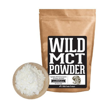 MCT Oil Powder by Wild Foods - C8/C10 Blend of Dried MCT Powder - Use for Shakes, Keto, Coffee Creamer