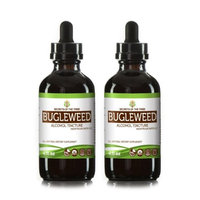 Secrets Of The Tribe Bugleweed Tincture Alcohol Extract, Organic Bugleweed (Ze Lan, Lycopus Virginicus) Dried Leaf 2x4 oz