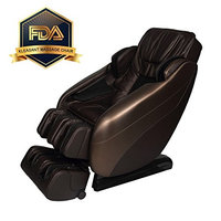 Kleasant Shiatsu Massage Chair L-Track Zero Gravity Space Saving Recliner Low Noise Full Body Massager Machine with Body Scan and Back Yoga