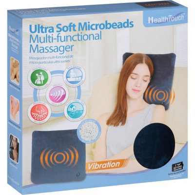 Leader Light Limited Health Touch Ultra Soft Microbeads Multi-Functional Massager, Blue