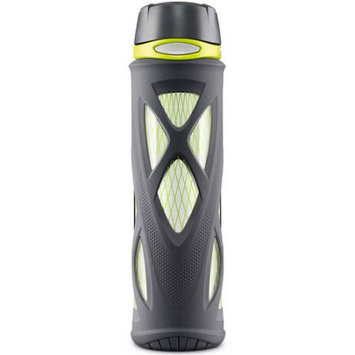 Cam Consumer Products, Inc. Zulu Atlas 20oz Glass Water Bottle with Flip Lid