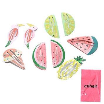cuhair 12pcs Pretty Butterfly Lace Women Girl Hair Clip Barrettes Hair Claw Hair Accessories