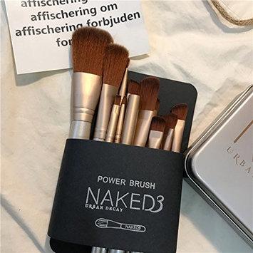 NAKED 3 Makeup Brushes 12 Pcs Travel Makeup Brushes Set with Box Professional Foundation Cosmetic Brushes Eye shadow Brush Lip Brush