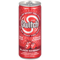 The Switch Sparkling Juice, Black Cherry, 8-Ounce Cans (Pack of 24)