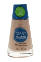 COVERGIRL Clean Oil Control Makeup 530 Classic Beige