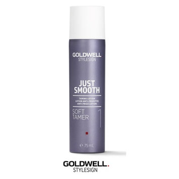 Goldwell Stylesign 1 Just Smooth Soft Tamer - Taming Lotion, 2.5 oz (with Sleek Steel Pin Tail Comb)