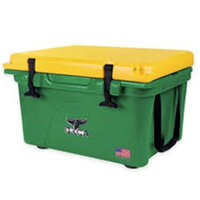 John Deere TS4006001OX32Q 32 qt Lit Cooler with Green & Yellow