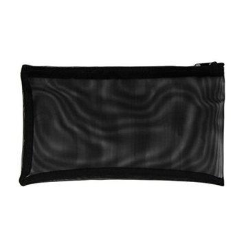 DZT1968 Trendy Gauze Transparent Fashion Handbags Cosmetic Bag Hand Clutch