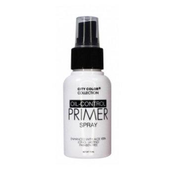 City Color Oil Control Face Primer Spray, Fresh Citrus Scent, 2.54 Fluid Ounce